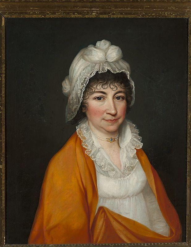 Portret nieznanej damy, Maciej Topolski 1804