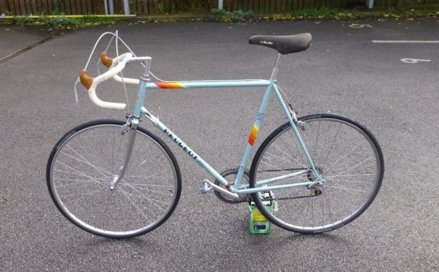 Retro Vintage Original Peugeot Road Racing Bike. Reynolds 501. | eBay