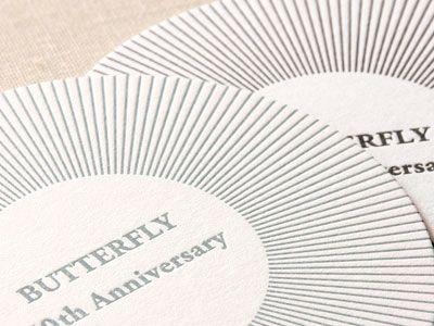 期間限定 活版印刷のコースター ハグルマ封筒オンラインストア