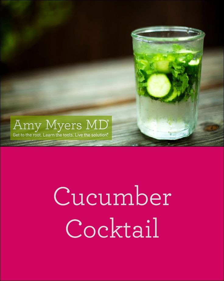 Cucumber Mocktail with Ginger, Lemon and Fresh Mint Leaves recipe! Refreshing and full of antioxidants!
