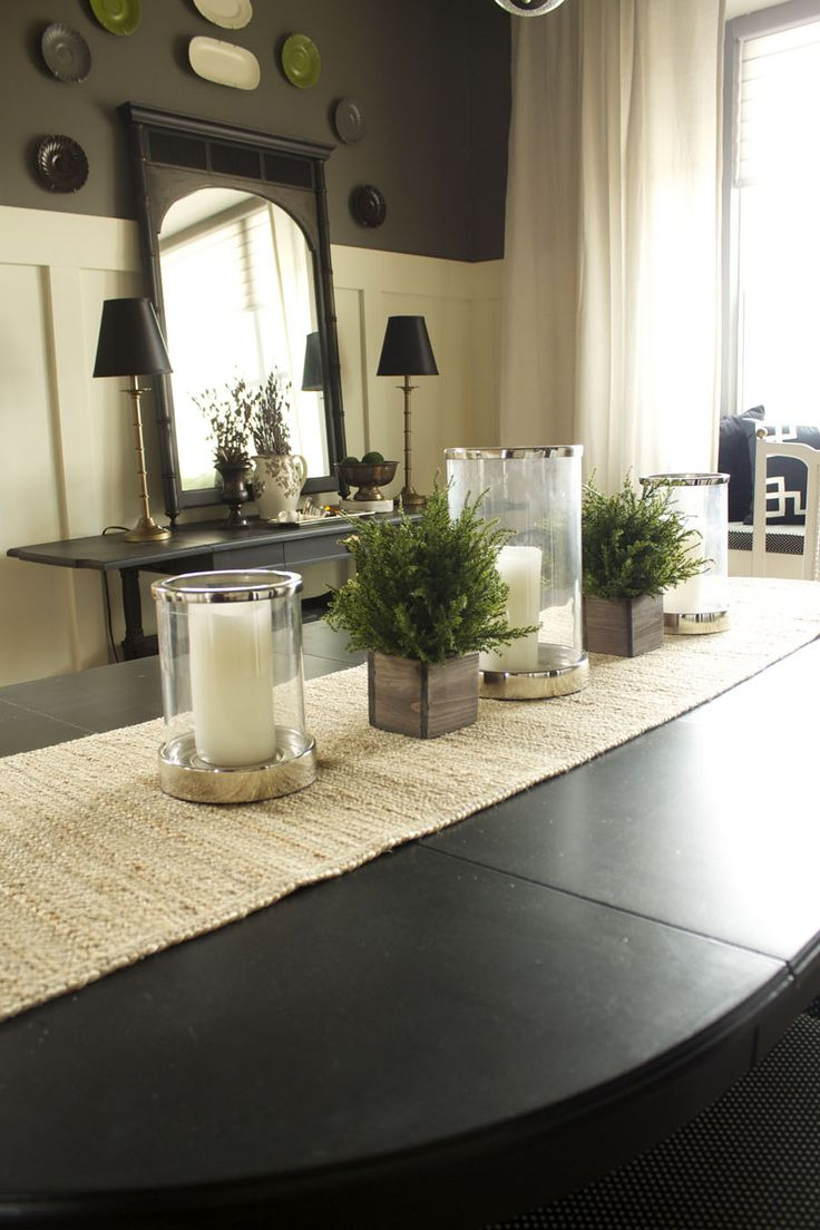 I loved my black dining room walls... I would love to try this too with the white on the bottom