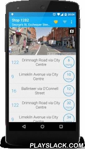 """Next Bus Dublin Free  Android App - playslack.com ,  Next Bus Dublin uses the new Dublin Bus realtime information system to tell you exactly when your bus is arriving. No more guessing using fictional timetables! The app allows you to save your frequently used stops for quick lookup and to search for stops on a map.""""A great replacement to the official Dublin Bus app"""" - Quinton O'Reilly, Tech Writer, TheJournal.ieFeatures:- Material design optimised for Android Lollipop- Android Wear…"""