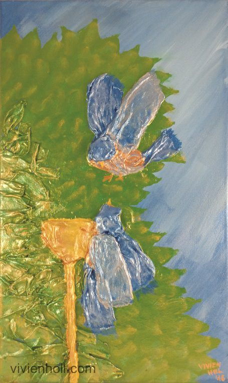 Birds (Madarak) - Paverpol, 30 x 50 cm, 2016 http://www.vivienholl.com/en/portfolio-items/paverpol-birds/ #paverpol #birds #madarak #madár
