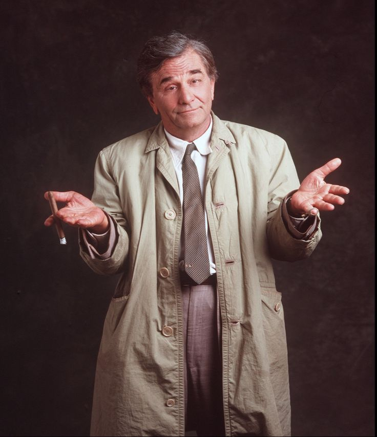 Peter Falk as Lt. Colombo 1968 - 2003