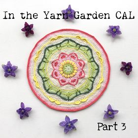 In the Yarn Garden: In the Yarn Garden CAL - Part 3, rounds 20 - 26