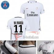 Fr-Football: Paris PSG 2016-2017 Saison Flocage Maillot De Foot Di Maria 11 Third Blanc |Thai Edition