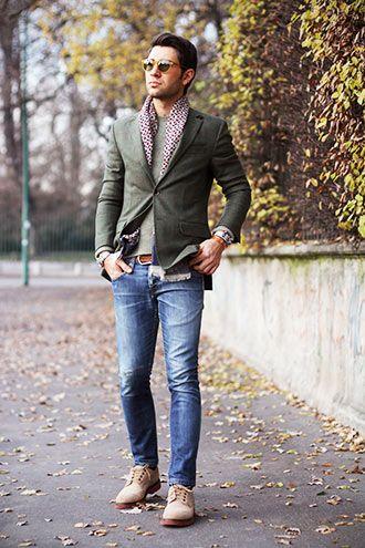 Liked on Pinterest: 30代 テーラードジャケットジーンズの着こなしメンズ | Italy Web