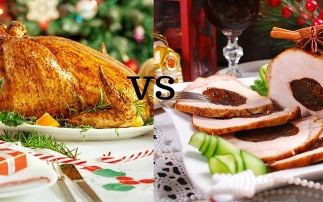 """Περί ορέξεως λόγος: Γαλοπούλα ή χοιρινό για το γιορτινό τραπέζι; - Τι θα επιλέξετε για το Χριστουγεννιάτικο τραπέζι σας; Θα αφεθείτε στην παραδοσιακή """"γουρουνοχαρά"""" ή θα τιμήσετε το εντυπωσιακό και νόστιμο πτηνό της Βόρειας Αμερικής;"""