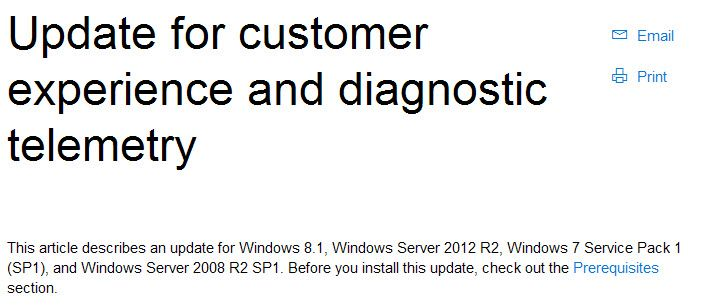 Windows 10 Worst Feature Installed On Windows 7 And Windows 8 - 8/30/15  Now users of the three most recent versions of Windows are all tracked by default...