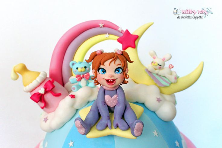 Childhood fantasy cake topper - Cake by Isabella Coppola di Milky Way