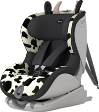 Hey, Britax, why aren't there ears and horns on the North Ameican Cowmooflage-styled carseats??
