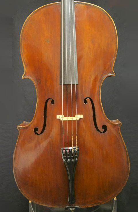Catalog of fine cellos for sale, including a cello by Raffaele and Antonio Gagliano, by old and modern master cello makers including Italian cellos, for cellists and cello players.