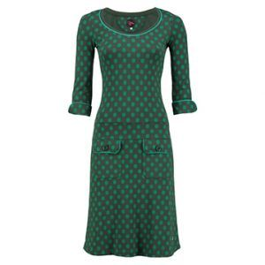 Dress Sue Little Dot Green