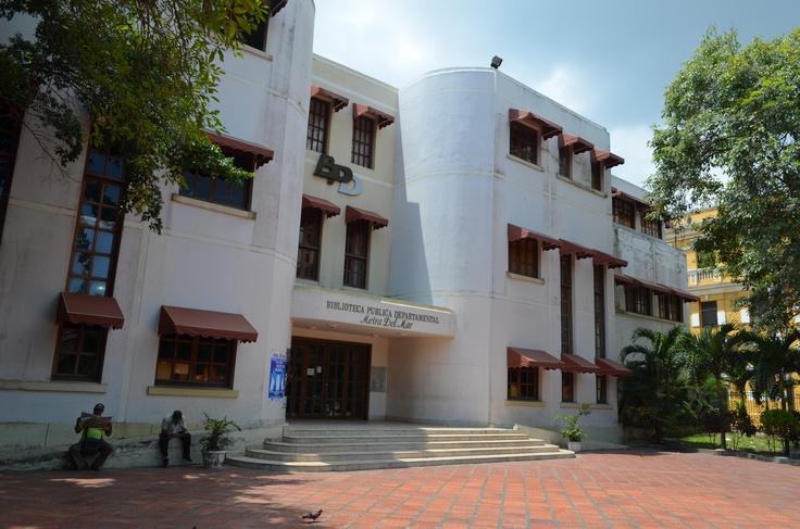 Biblioteca Departamental Meira del Mar. Barranquilla - Atlántico. Colombia.