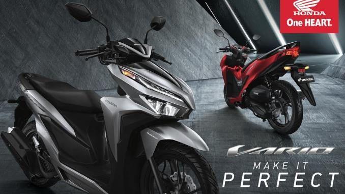 Daftar Warna Vario 125 Dan 150 Terbaru Lengkap Honda Motor Honda Motor