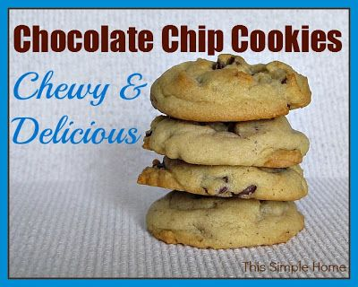 This Simple Home: My BEST Chocolate Chip Cookie Recipe