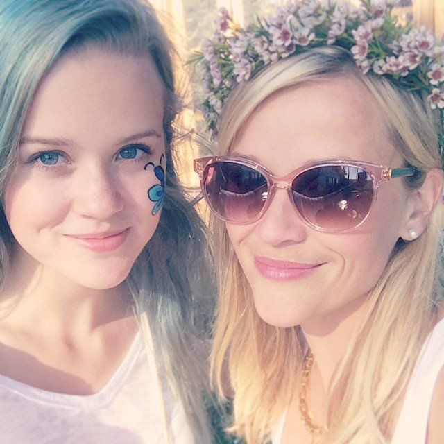 Pin for Later: Reese and Ryan's Daughter Is Making a Name For Herself on Instagram With Her Mom