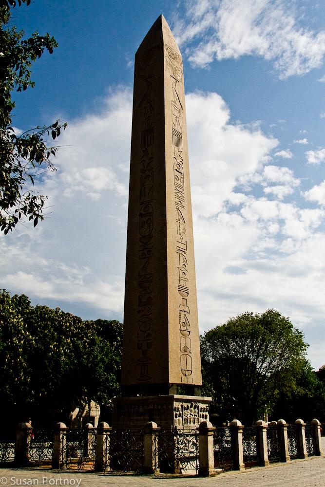 The Egyptian obelisk in the Hippodrome