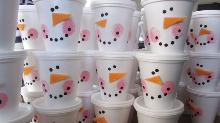 Пластиковые стаканчики: 8 идей для вдохновения