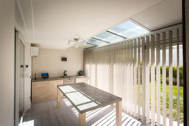 17 meilleures id es propos de rideaux de v randa sur pinterest rideaux de - Veranda rideau epure ...
