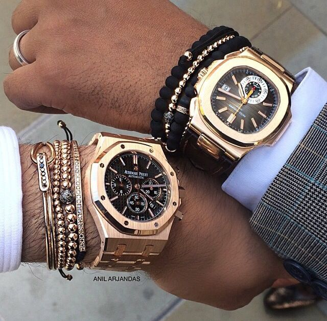 Audemars Piguet Royal Oak Chrongraph & Patek Philippe Nautilus