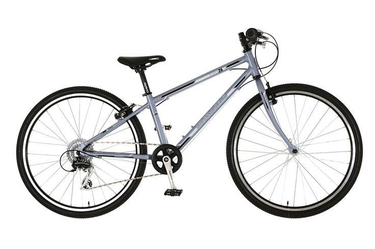 Lekki rower Dawes Academy 26/13 Silver na kołach 26 cali