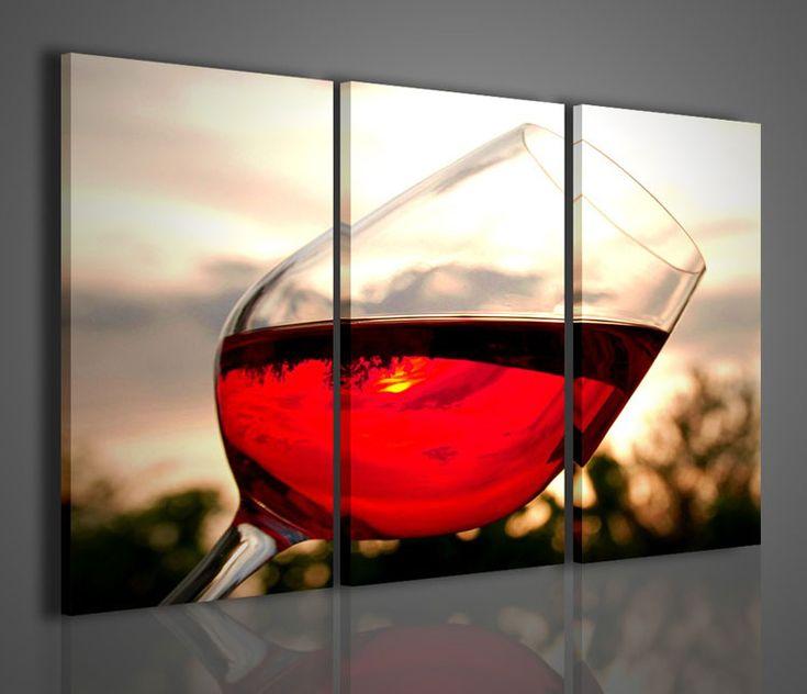 50 quadri moderni per cucina stampe su tela componibili painting alcoholic drinks glass - Stampe moderne per cucina ...