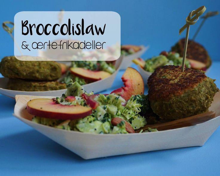 Vanløse blues.....: Broccolislaw & grønne frikadeller + lidt spændende nyheder!