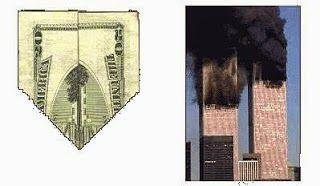 Big secret hidden message of dollar 9/11 (WTC and Pentagon)