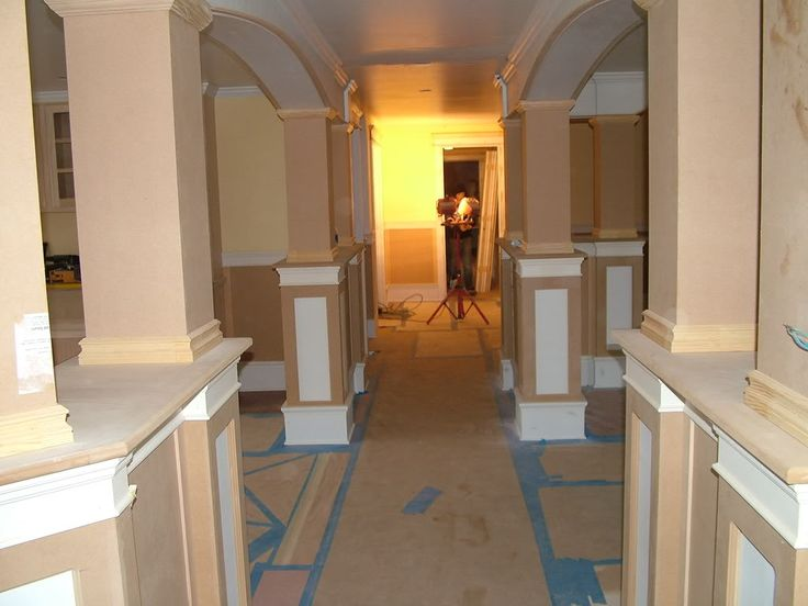 Interior Columns   How Build Interior Columns Pictures