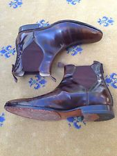 Oliver Sweeney Men's Brown Leather Chelsea Dealer Boots UK 7 US 8 EU 41 Foxhall