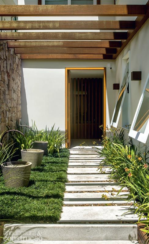 122 best images about paisagismo on pinterest gardens - Entradas de casas ...