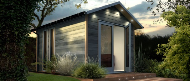 Uk-based The Decorated Shed pre-fab garden office and studio. I wish!!