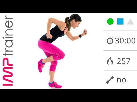 Allenamento Total Body Brucia Grassi Senza Salti Per Dimagrire e Tonificare - YouTube