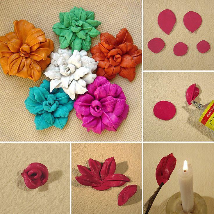 Best 25 leather flowers ideas on pinterest diy leather for Leather flowers for crafts