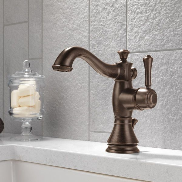 Delta Cassidy Single Handle Centerset Bathroom Faucet & Reviews | Wayfair