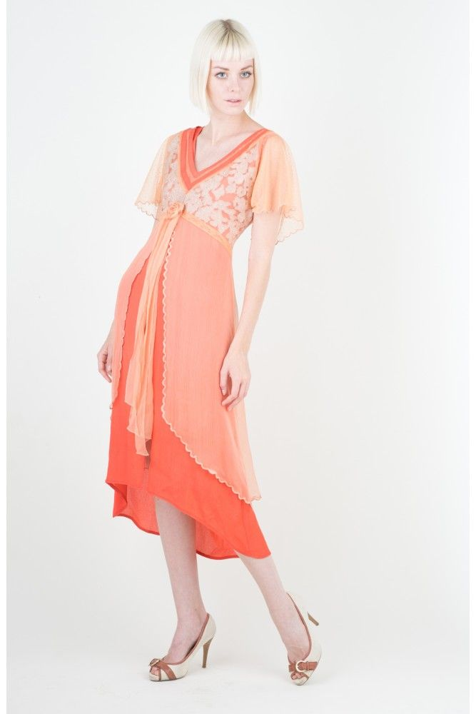 Vintage Summer Wedding Guest Dress By Nataya Sold Out