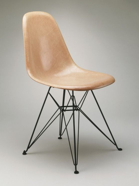 Charles and Ray Eames for Herman Miller Furniture Company, Chair, c. 1950, Los Angeles County Museum of Art, gift of the employees of Herman Miller, Inc., © The Charles and Ray Eames Estate #eames @hermanmiller