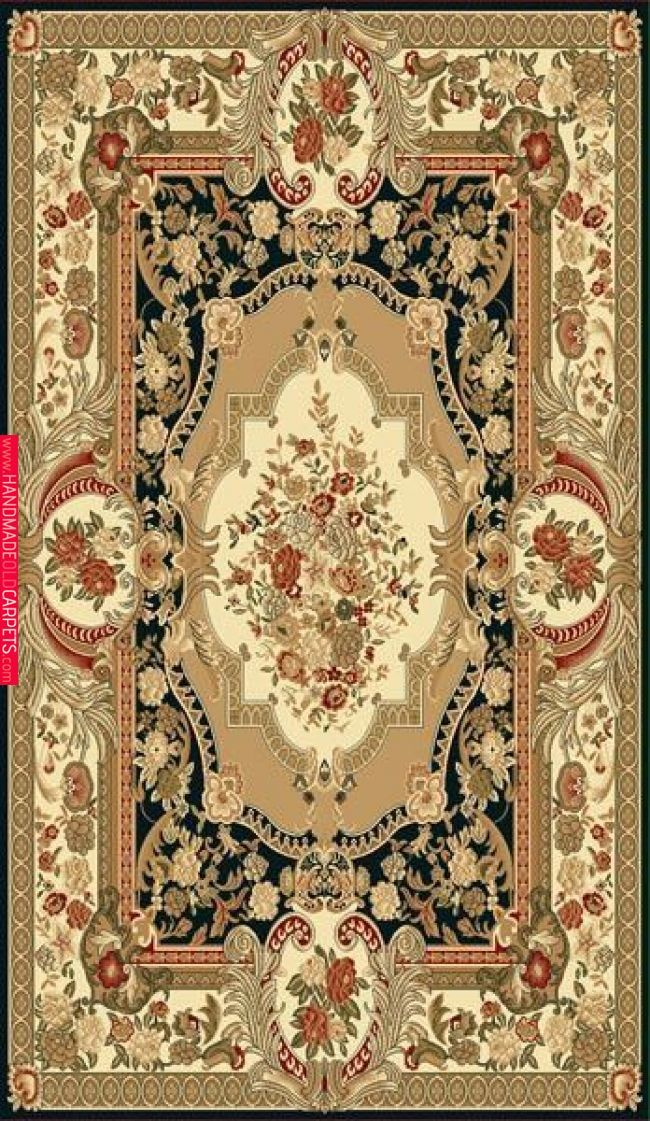 Elegance 211 Black Rug Carpet