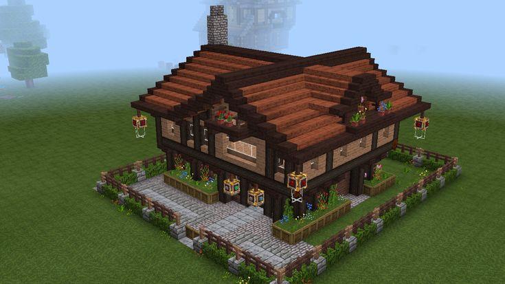 Wooden house Minecraft