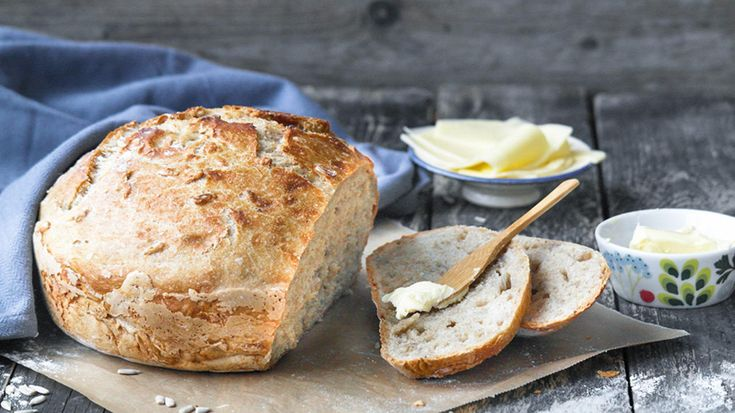 Brød i gryte: Eltefritt frokostbrød
