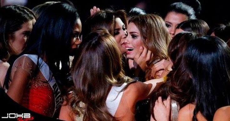 Mira lo que sucedio en el concurso de Miss Universo 2015, ¡no lo podras creer!, ¿como pudo cometer un error asi?