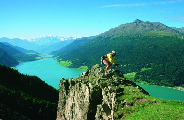 Biker auf Plamort