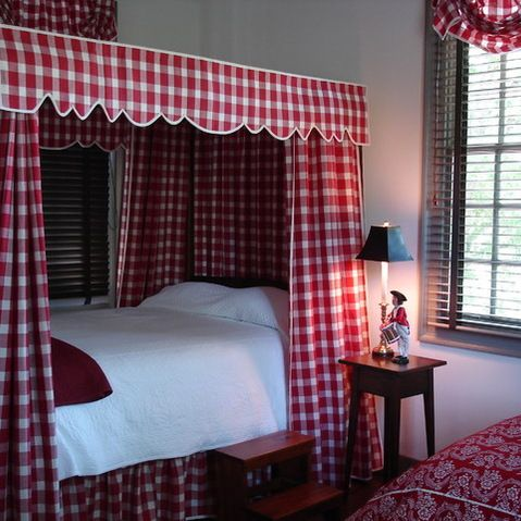 Colonial Williamsburg Interiors Colonia Design Pictures Remodel Decor And Ideas Red White Checkered Gingham