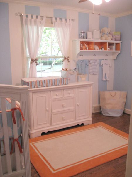 Vivienne's Blush, Grey and Aqua Nursery   Project Nursery