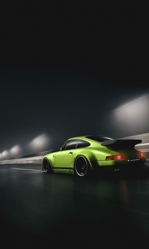 Porsche 911 Sports Car Minimal Art Wallpaper Sports Car Wallpaper Cool Car Pictures Automotive Artwork