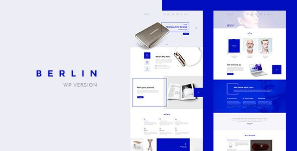 Berlin - Tech Company WordPress Theme
