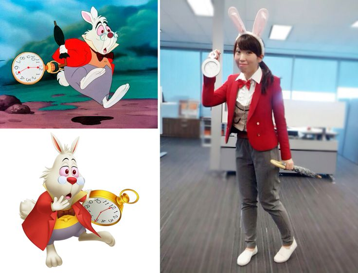 I'm Late {Last Minute Halloween Costume} White rabbit from ...