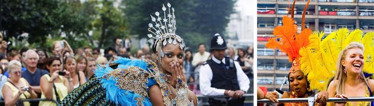 Iconic of course, don't miss Notting Hill's carnival this Sunday and Monday! More info: http://www.thenottinghillcarnival.com/faq/