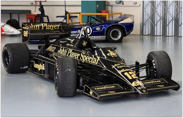 Ayrton Senna Lotus Renault 98T F1
